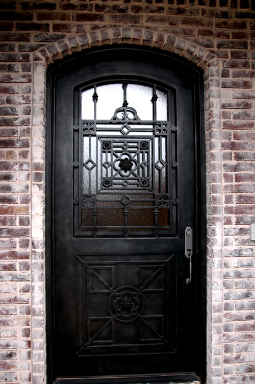 Home entrance door iron entrance door for Home entry doors